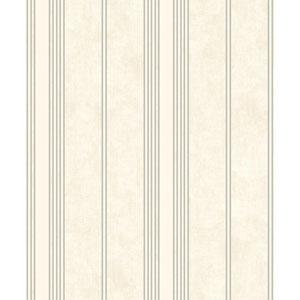 Mixed Metals Channel Stripe Wallpaper
