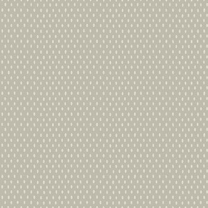 Carey Lind Modern Shapes Grey and White Marquise Wallpaper