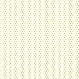 Carey Lind Modern Shapes White and Yellow Green Marquise Wallpaper