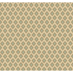 Carey Lind Modern Shapes Beige and Tan Keystone Wallpaper