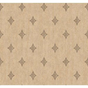 Menswear Voltage Brown and Beige Removable Wallpaper
