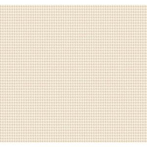 Menswear Tyler Houndstooth Metallic Removable Wallpaper