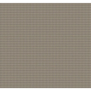 Menswear Tyler Houndstooth Metallic Removable Wallpaper