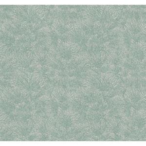 Ronald Redding Medley Silvana Blue Wallpaper