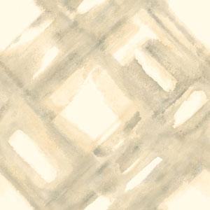 Cloud Nine District Beige Removable Wallpaper