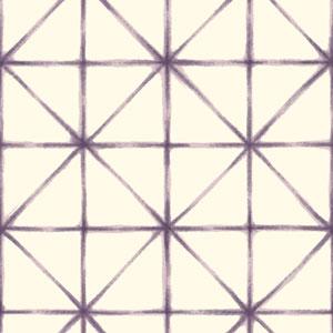 Cloud Nine Kumo Purple Removable Wallpaper