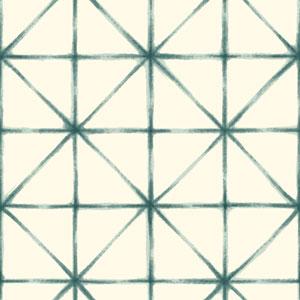 Cloud Nine Kumo Green Removable Wallpaper
