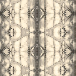 Cloud Nine Transcendence Black and Beige Removable Wallpaper