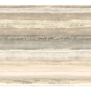 Cloud Nine Perspective Beige Removable Wallpaper