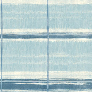 Cloud Nine Window Shopping Blue Removable Wallpaper