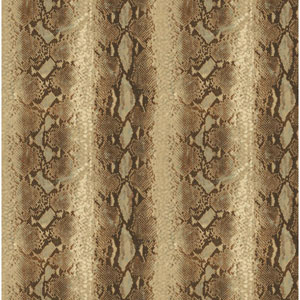 Natural Elements Cream and Gold Python Wallpaper