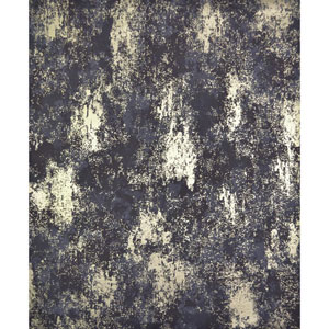 Antonina Vella Modern Metals Nebula Plum and Gold Wallpaper