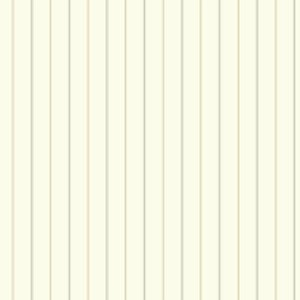 Nautical Living Off White and Beige 3-Pinstripe Wallpaper