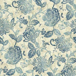 Nautical Living Cream and Beige Lillian Wallpaper