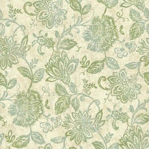 Nautical Living Pearlescent Beige, Yellow and Green Lillian Wallpaper