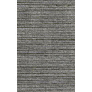 Ronald Redding Designer Resource Metallic Pewter and Brass Grasscloth Woven Wallpaper