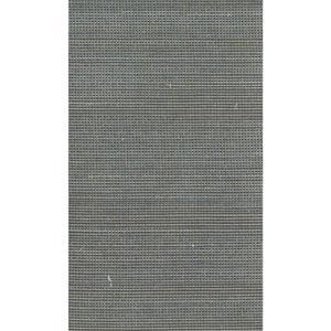 Ronald Redding Designer Resource Metallic Gold and Grey Grasscloth Glitter Woven Wallpaper