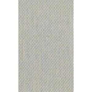 Ronald Redding Designer Resource Metallic Silver Grasscloth Burlap Wallpaper