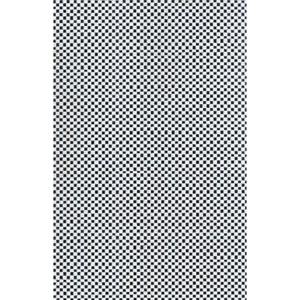 Ronald Redding Designer Resource Metallic Silver and White Grasscloth Flashy Woven Wallpaper