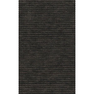 Ronald Redding Designer Resource Black and Metallic Silver Sparkle Woven Wallpaper