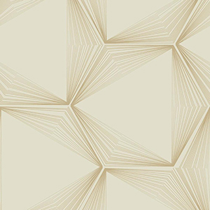 Candice Olson Journey Gold Honeycomb Wallpaper