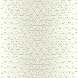 Candice Olson Journey White and Cream Rhythmic Wallpaper