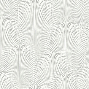 Candice Olson Journey White Deco Fountain Wallpaper