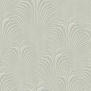 Candice Olson Journey Grey Deco Fountain Wallpaper