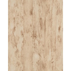 Weathered Finishes Taupe and Tobacco Brown Wood Wallpaper