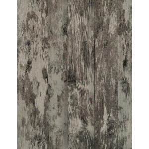 Weathered Finishes Eggshell and Cream Wood Wallpaper