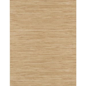 Weathered Finishes Ecru and Taupe Grass cloth Wallpaper