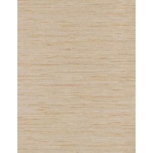 Weathered Finishes Silvery Grey, Beige and Tan Grass cloth Wallpaper