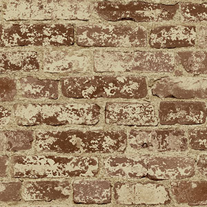 Europa II Stuccoed Brick Prepasted Wallpaper