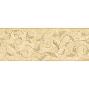 Europa II Vine Scroll Prepasted Border