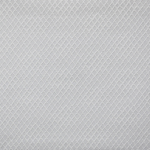 Diamond Trellis Paintable White Wallpaper