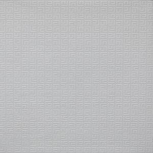 Greek Geo Paintable White Wallpaper