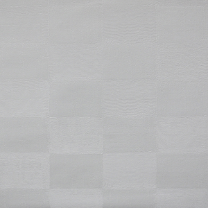 Patchwork Squares Paintable White Wallpaper