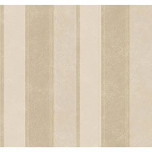 Legacy Scala Stripe Beige Wallpaper