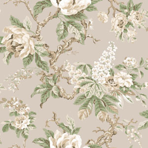 Legacy Vintage Garden Black Wallpaper
