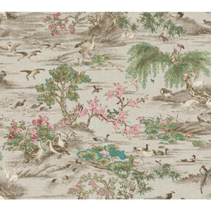 Legacy Fragrant Garden Scenic Black Wallpaper