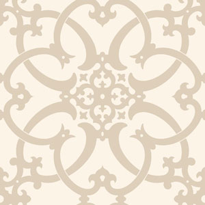 Legacy Antiquity Beige Wallpaper