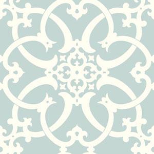 Legacy Antiquity Blue Wallpaper
