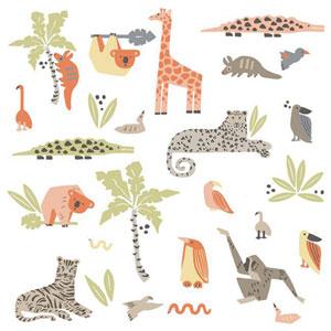 Dwell Studio Baby and Kids Jungle Animal Decal