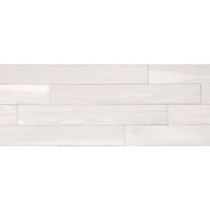 Plantation White Peel and Stick Wall Planks