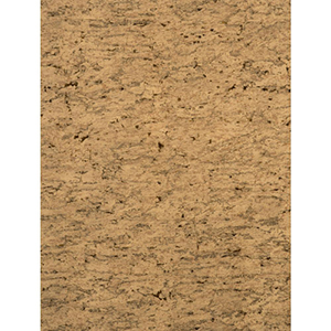 Modern Rustic Cork Tan, Black and Deep Brown Wallpaper