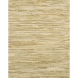 Modern Rustic Tan, Off White and Dark Green Wallpaper