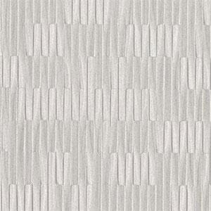 Silver Leaf II Mirror Mirror Metallic Silver Wallpaper