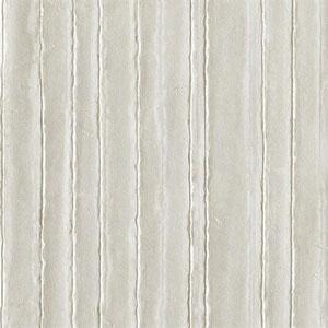 Industrial Interiors Vintage Tin Metallic Silver and White Wallpaper