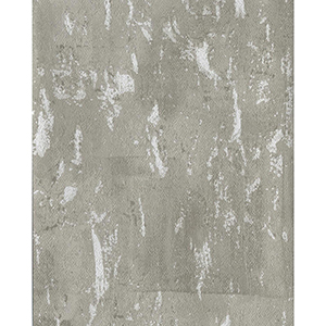 Ronald Redding Industrial Interiors II Gray and White Metallic Wallpaper