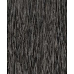 Ronald Redding Industrial Interiors II Black and Brown Wood Wallpaper